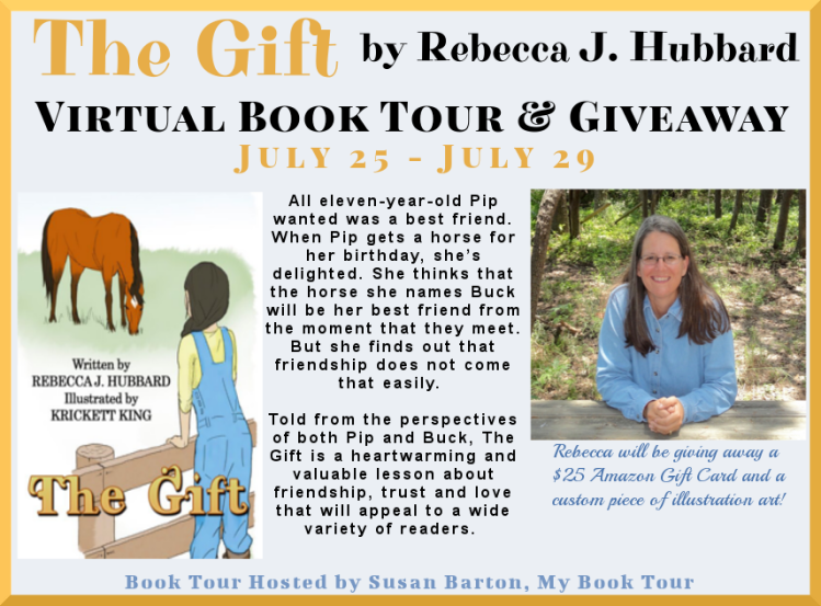The Gift by Rebecca Hubbard Book Tour Banner